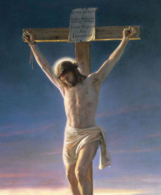 """Christ on the Cross"", by Carl Heinrich Bloch"