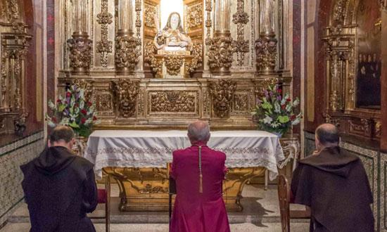 Praying to Teresa of Avila