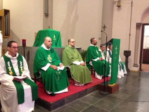 the Superiors General Fr. Fernando Millán Romeral, O.Carm., and Fr. Saverio Cannistrà, O.C.D