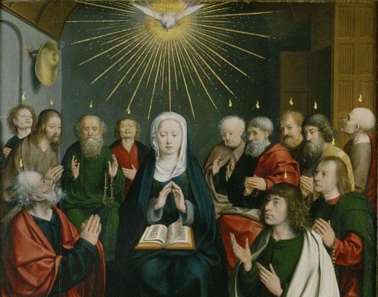 Pentecost by Jan Joest Van Kalkar