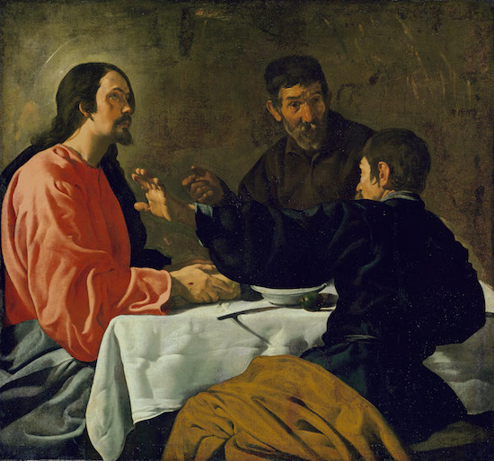 The Supper at Emmaus by Diego Velaquez