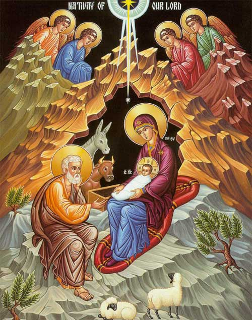 Icon of the Nativity of Our Lord