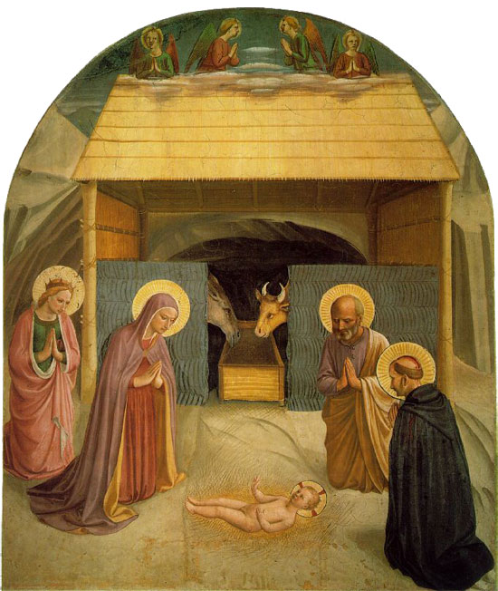 Fra Angelico's Nativity