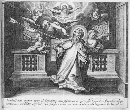 The Transverberation of St. Teresa of Avila