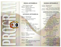 2015 Lay Carmelite Convocation brochure back