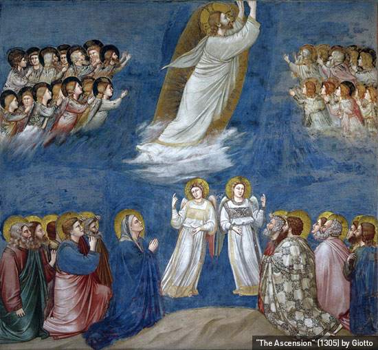 """""""The Ascension"""" (1305) by Giotto"""