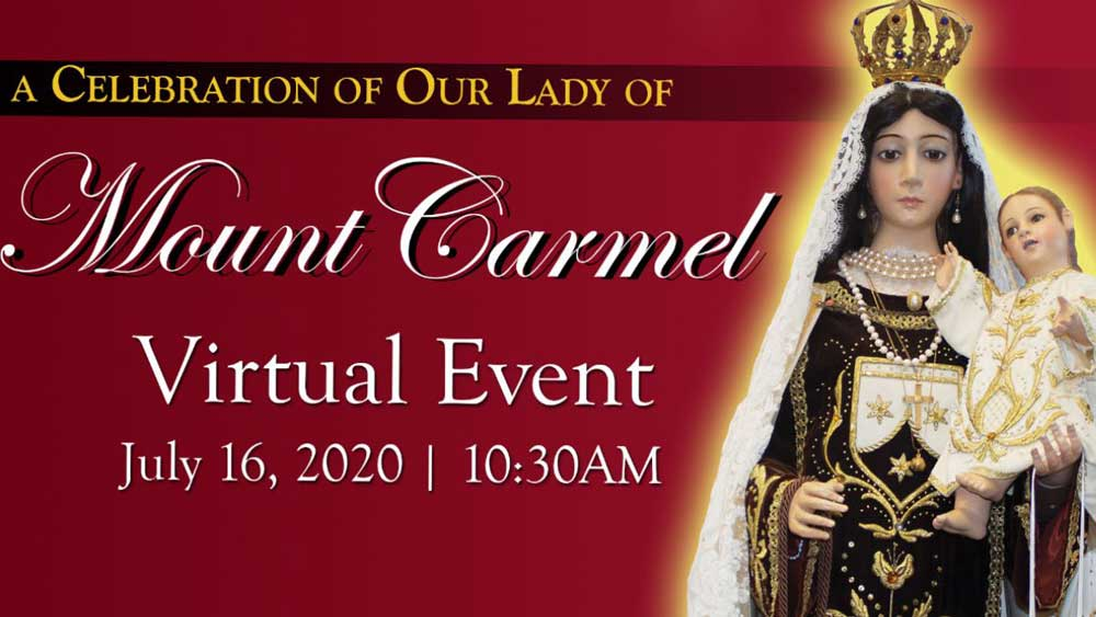 Celebration of the Feast of Our Lady of Mount Carmel