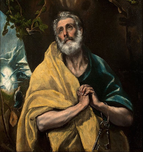 The Tears of St. Peter by El Greco