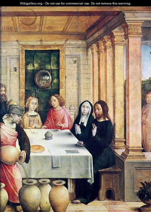 The Marriage Feast at Cana by Juan de Flandes