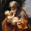 Saint Joseph with the Infant Jesus by Guido Reni